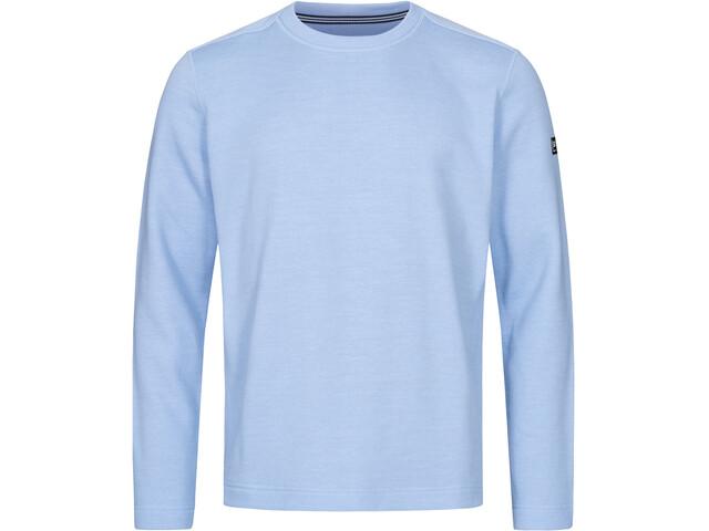 super.natural Knit Sweater Herren skyway melange